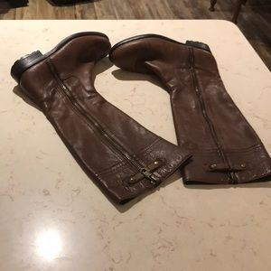 Franco Fortini tall Dylan leather boots SZ 8M